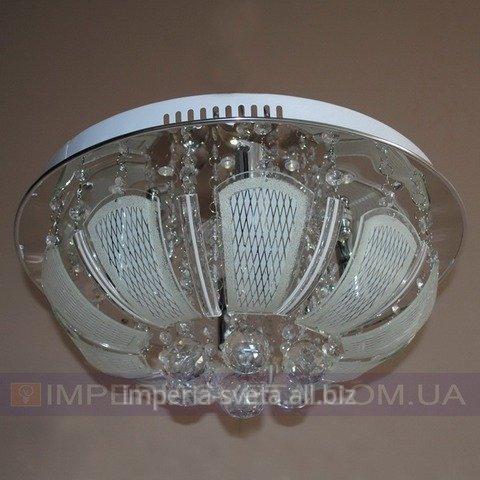 Купить Потолочная люстра LED TINKO пятиламповая с пультом дистанционного управления и диодной подсветкой
