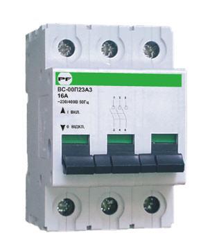 Купить Силовой выключатель ВС 3Р 63А Standart