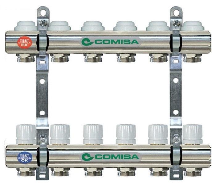 Коллектор для отопления 4-ка Comisa