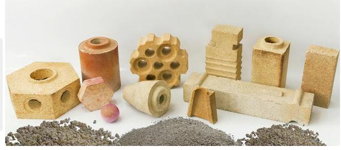Изделия корундовые плотные на фосфатной связке марки КПФ