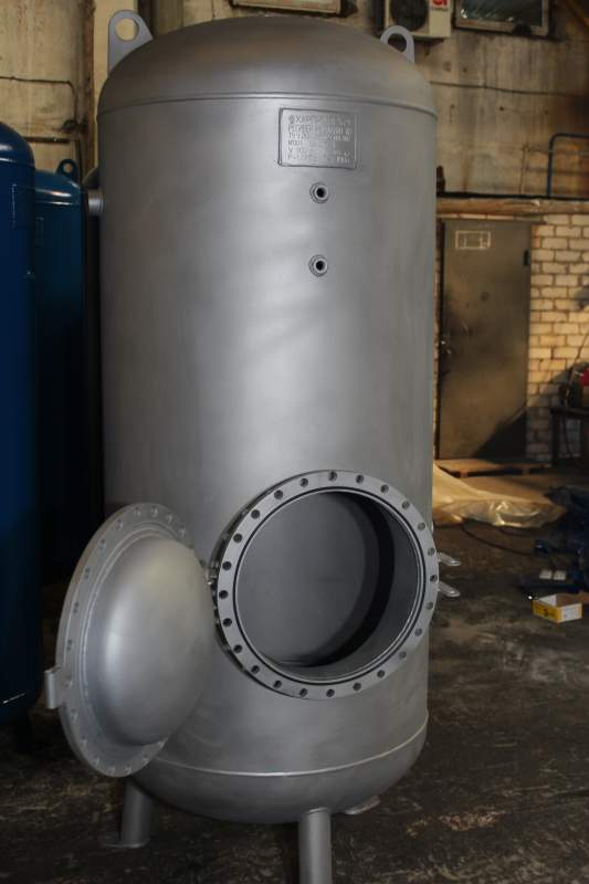 The capacity equipment from stainless steel Kharkiv