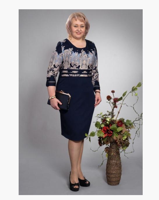 Женское платье больших размеров оптом от производителя