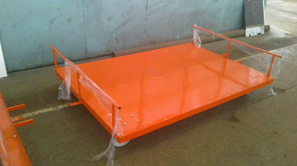 Тележка для перевозки матов 1250 х 2000 мм