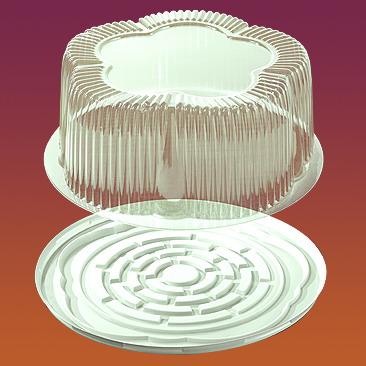 Упаковка для тортов и рулетов Код 9105