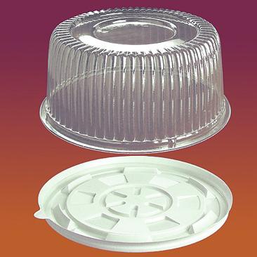 Упаковка пластиковая для тортов и рулетов Код 1171