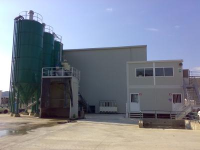 Cтационарный быстровозводимый завод CIFA модели CIFADRY 80 производительностью 80 м3/час