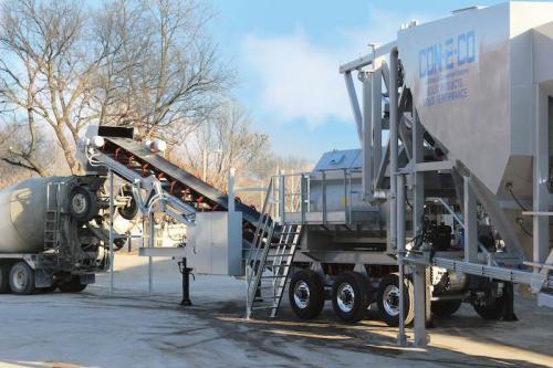 Бетонный завод CIFA модели CIFAMOOVE 60 производительностью 60 м3/час