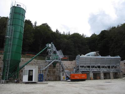 Бетонный завод CIFA модели CIFAMOOVE 90 производительностью 90 м3/час