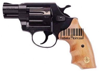 Револьверы для стрельбы резиновыми пулями,ALFA 420 (черный, дерево). Изготовлено - ALFA (Чехия)