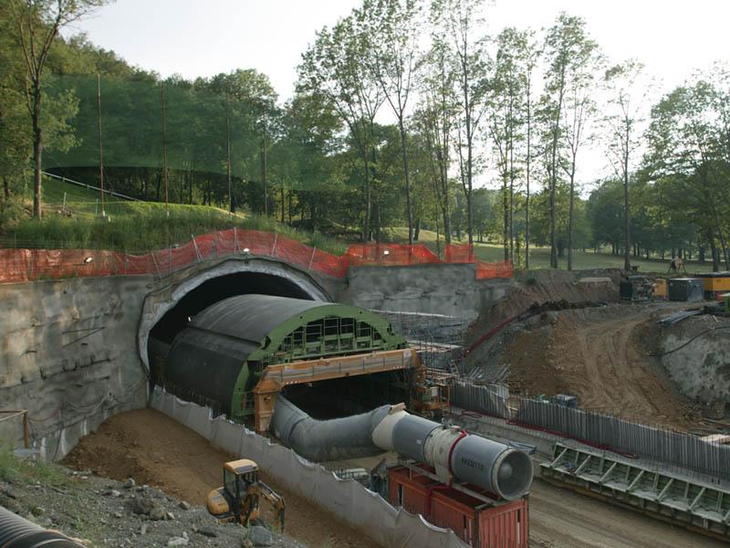 Автономная тоннельная опалубка