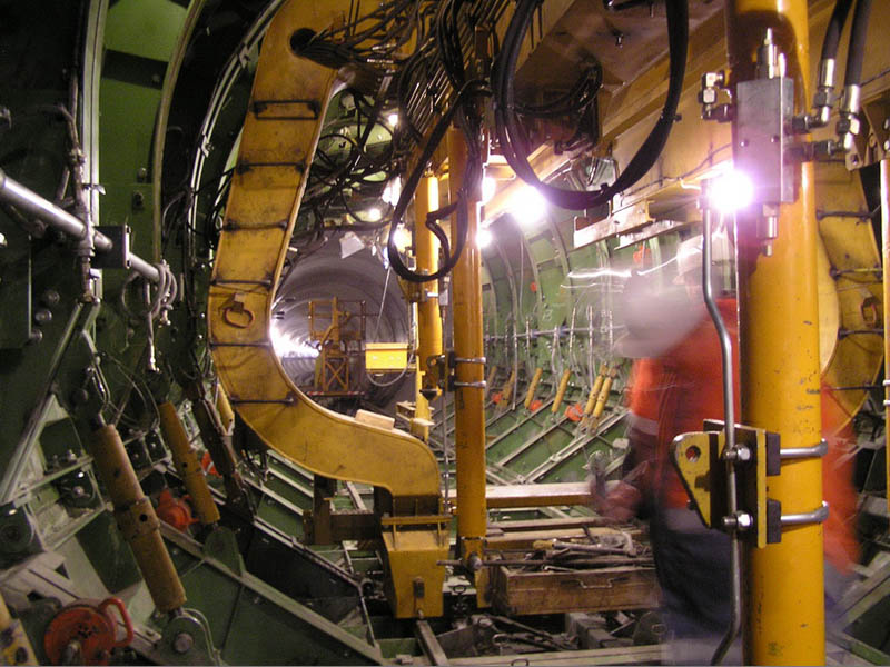 Специальная опалубка для расширения и пересечения тоннелей