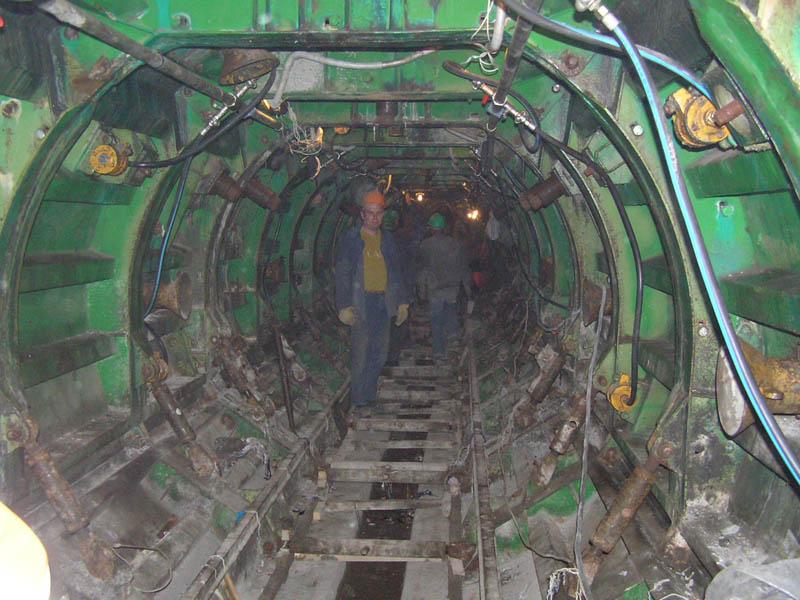Телескопическая, цельнокруглая тоннельная опалубка