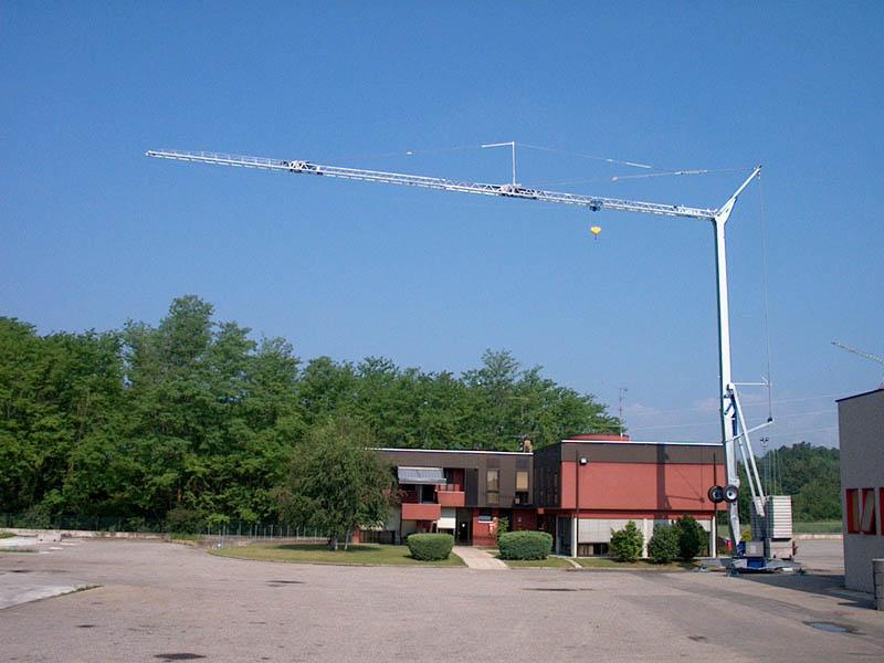 Buy Tower crane OMV 331 (1.8 T, ARROW of 20 M)