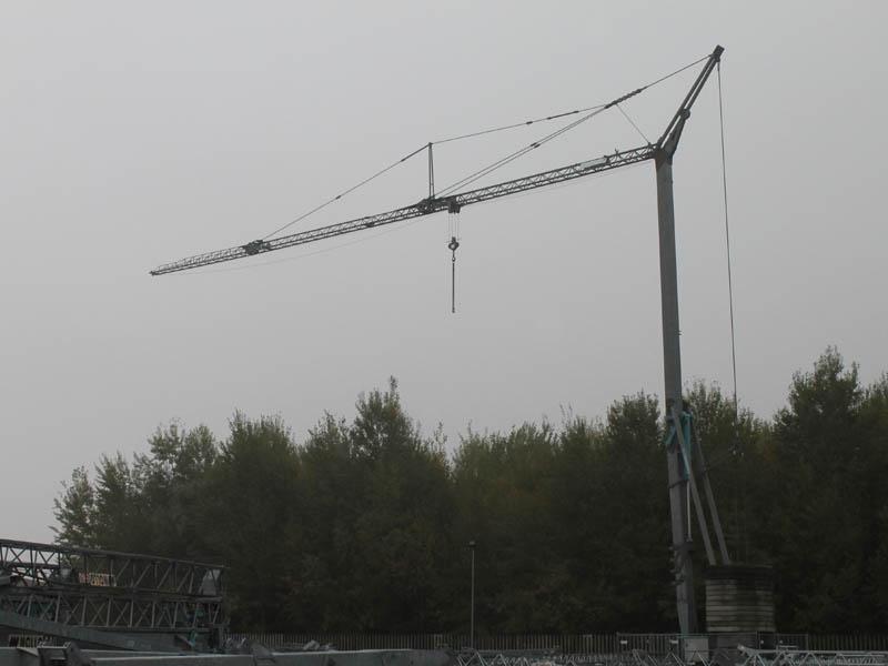 Кран башенный OMV 350 (2.2 Т, СТРЕЛА 27 М)