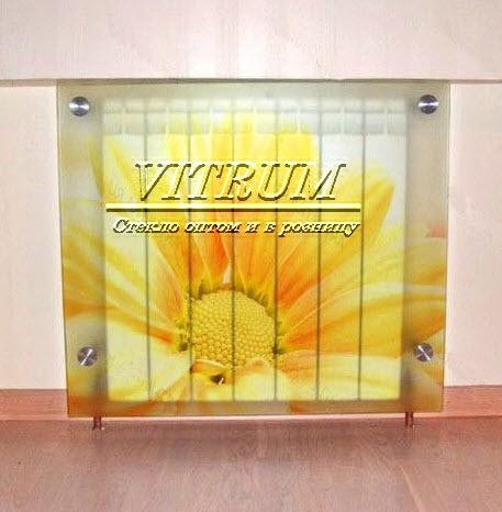 Купить Экраны стеклянные для радиаторов