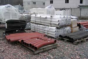Стальные бетоноводы к бетононасосам CIFA