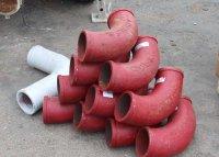 Стальные поворотные колени для бетоноводов к бетононасосам CIFA