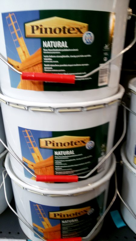 Купити Пинотекс Натурал PINOTEX NATURAL10л/1950грн Лессирующее зносостійке деревозащитное засіб