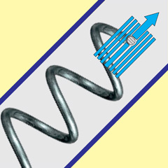 Купить Шнеки спиральные гибкие пружинные для сахара, соли и др. абразивных продуктов