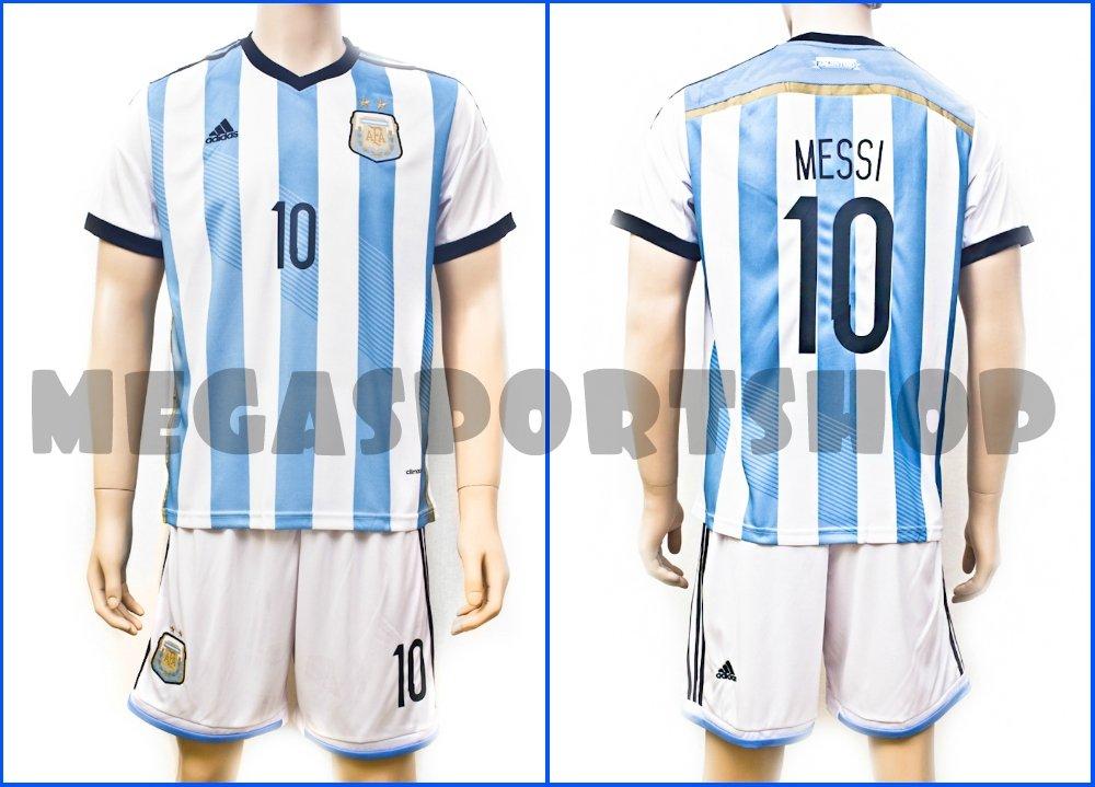 Купить Футбольная форма сборной Аргентины 2014, MESSI 10