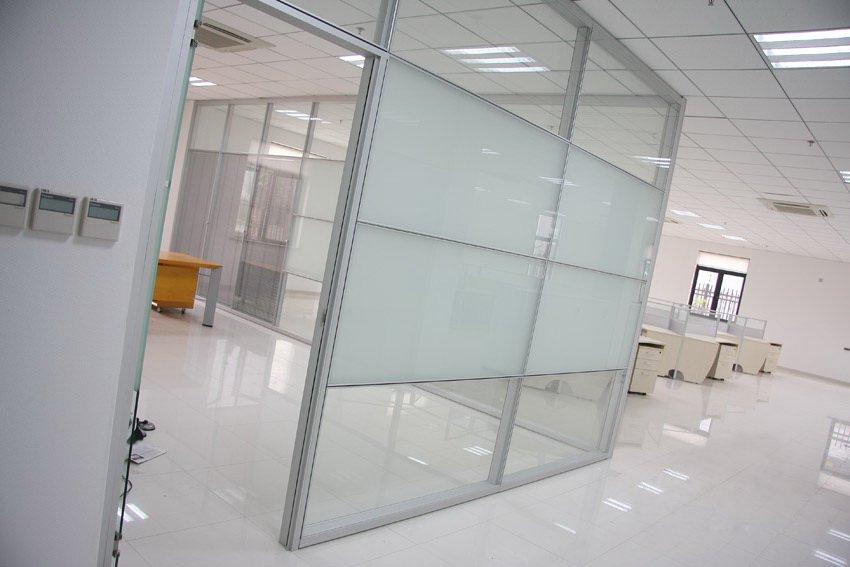 Buy PARTITIONS OFFICE TOILET SANITARY DUSHEAYE GLASS ALUMINIUM