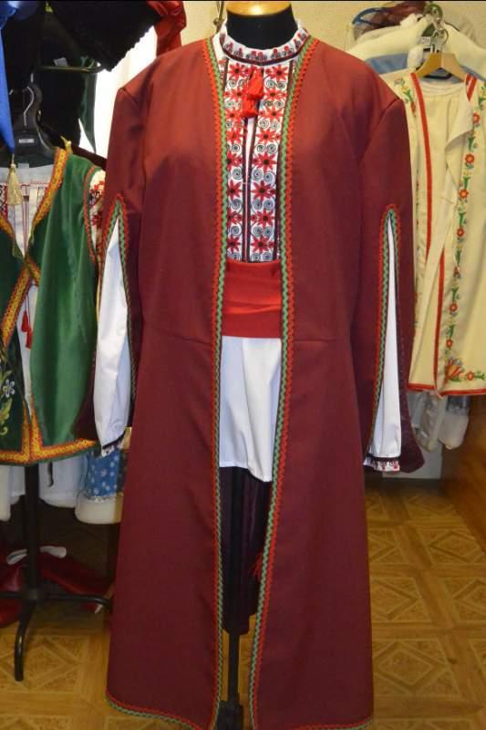 Купить Свита мужская с отделкой, ткань габардин