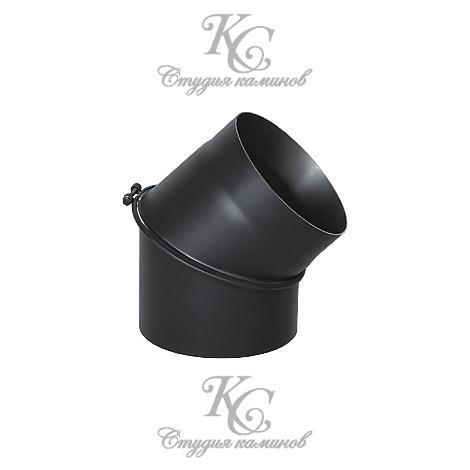 Колено стальное Bertrams 160 мм 45°