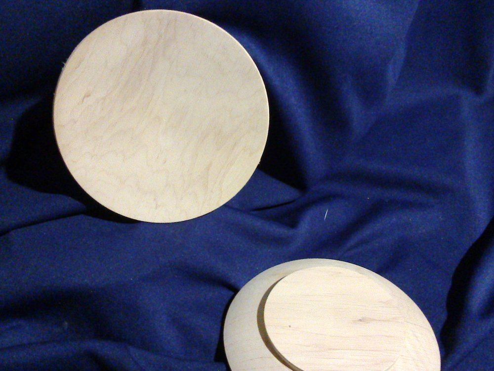 Деревянная тарелка 130 мм, ольха