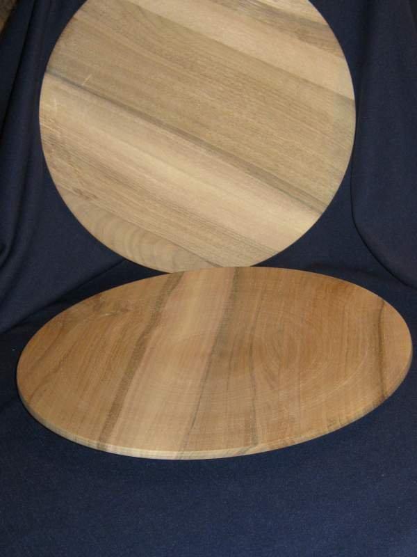Деревянная тарелка 300 мм