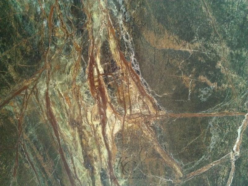 Мрамор зеленый Bidasar Green (Бидасар Грин)