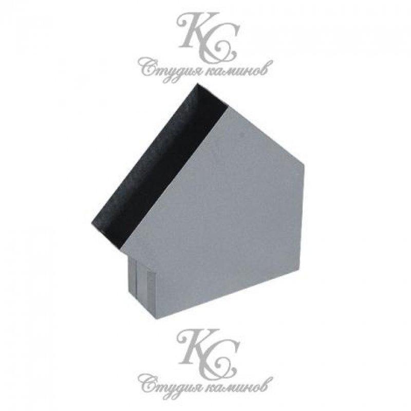 Колено 45* для плоского канала 15х50 мм