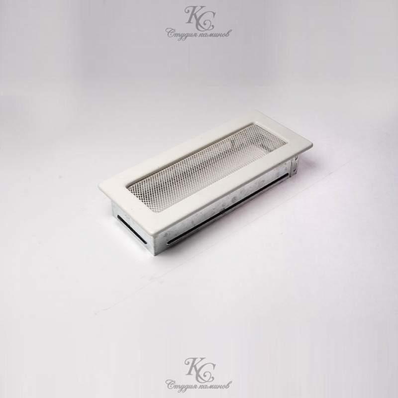 Решетка белая 10,5x25