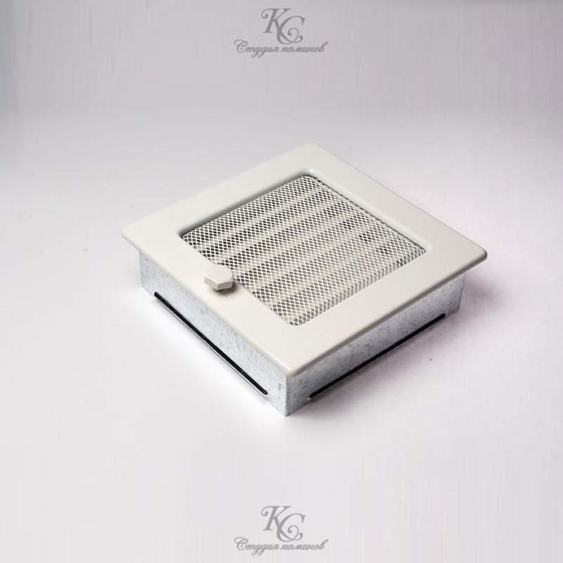 Купить Решетка белая 17x17 с жалюзи