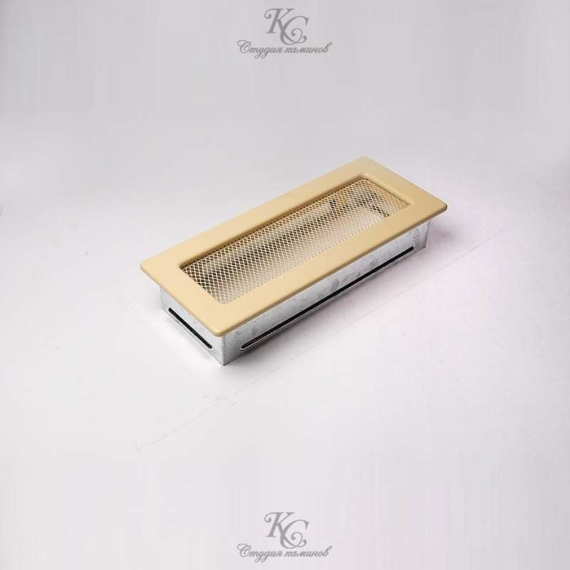 Решетка кремовая 10,5x25