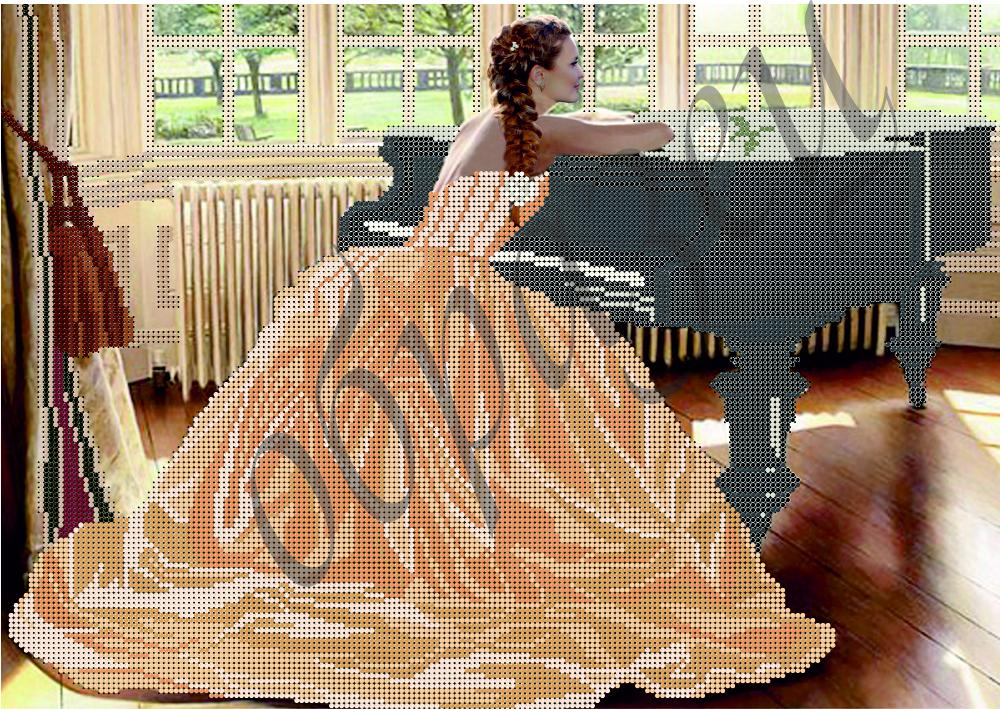 Схема для вышивки бисером За