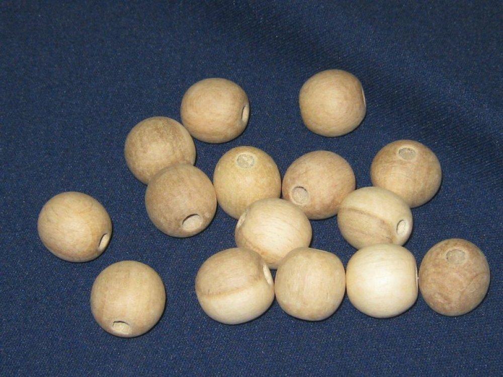 Бусины 20 мм (1000 шт), яблоня