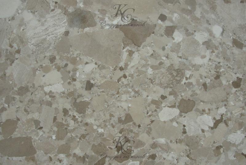 Мрамор бежевый Breccia Mozaic (Брехчия Mозаика)