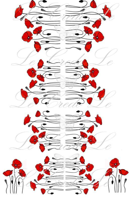 Buy Slider - design for nails No. 423