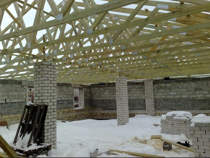 Купить Стропильные системы MITEK (Крыши быстровозводимые), проектирование, производство и установка