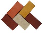 """Купить Кирпич цветной, толщина 60 мм, тротуарная плитка, ППК """"Тротуар-стиль дизайн"""""""