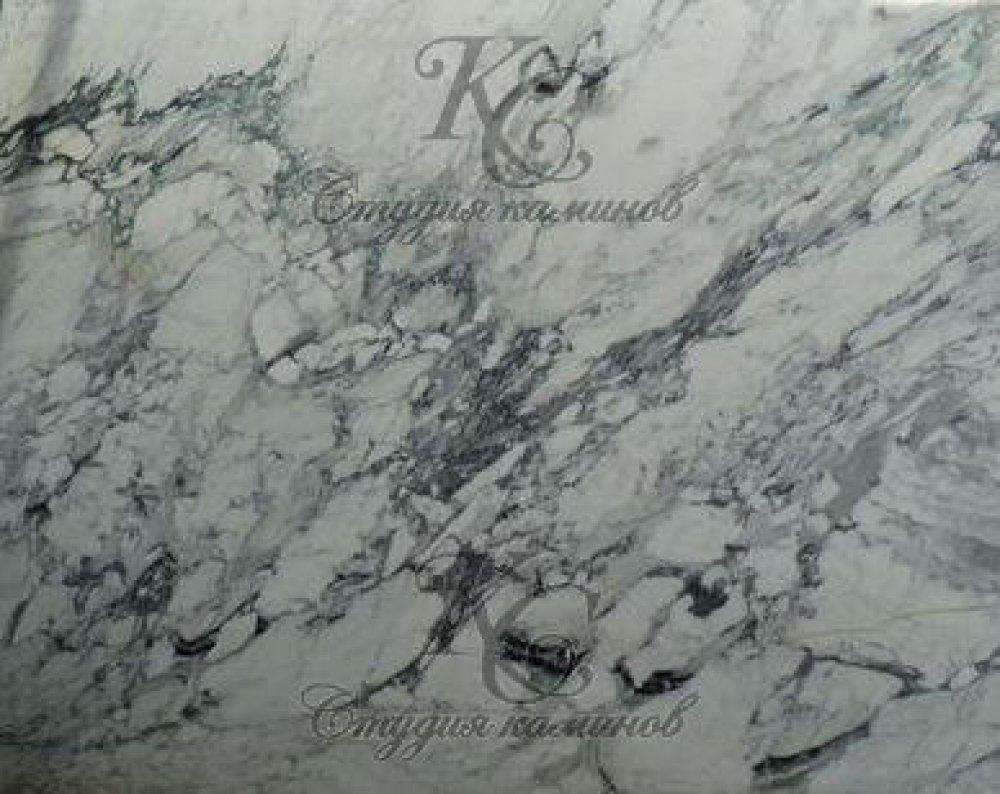 Мрамор бело-серый Breccia Fantasy (Брехчия Фентези)