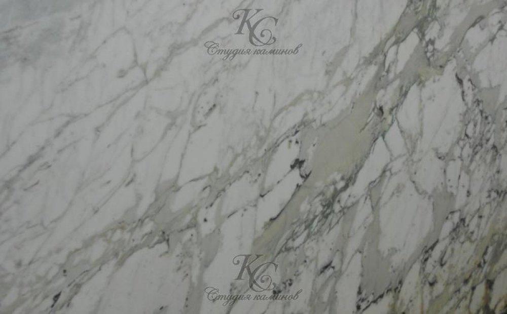 Мрамор бело-серый Calacatta Fantasia (Калакатта Фантазия)