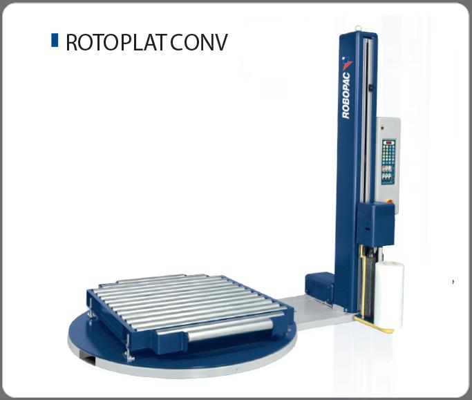 Купить Паллетообмотчик серии Rotoplat CONV