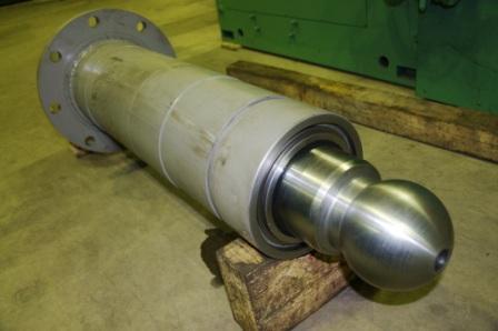Узлы гидравлики для горно-шахтного оборудования, гидроцилиндры на СБШ-250 и другую технику по чертежам  заказчика