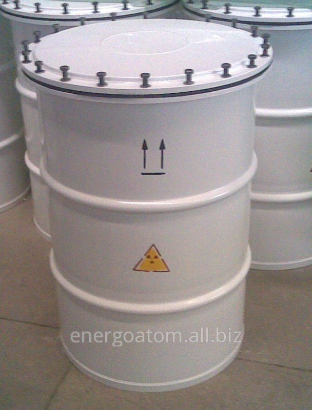 Buy The container for solid radioactive waste