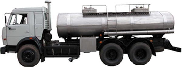 Автоцистерна  АЦ-9-53215П
