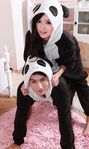 Пижама кигуруми панда снежная 93e24ac7a1035
