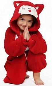 Пижама кигуруми для детей лиса купить в Киеве e76397d7e506b