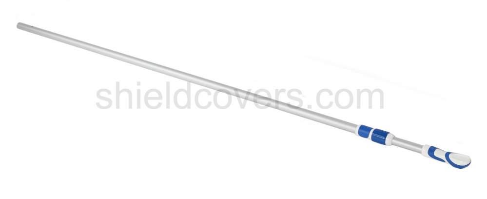 Rétractable longueur de la flèche télescopique de 2,4 m. Pour 4 à 8 m. Bouclier