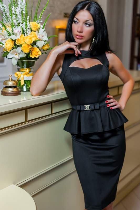 Платье с баской купить украина